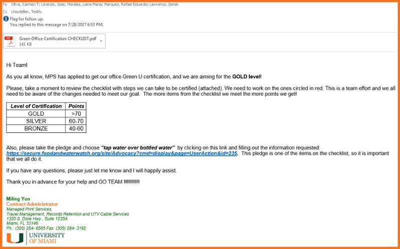 green office. HERE Is An Example Of A Very Motivating Email From Green Leader To Her Team: Office